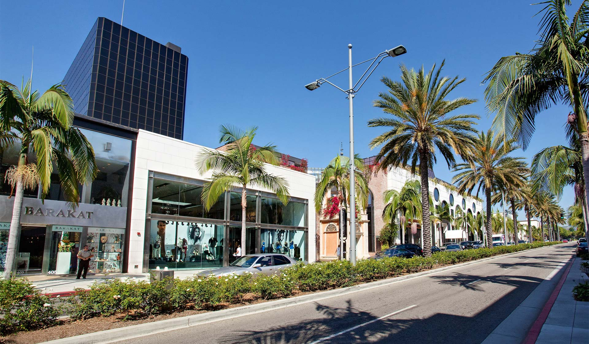 Palazzo West  - Los Angeles, CA - Shopping and Eateries on Rodeo Drive