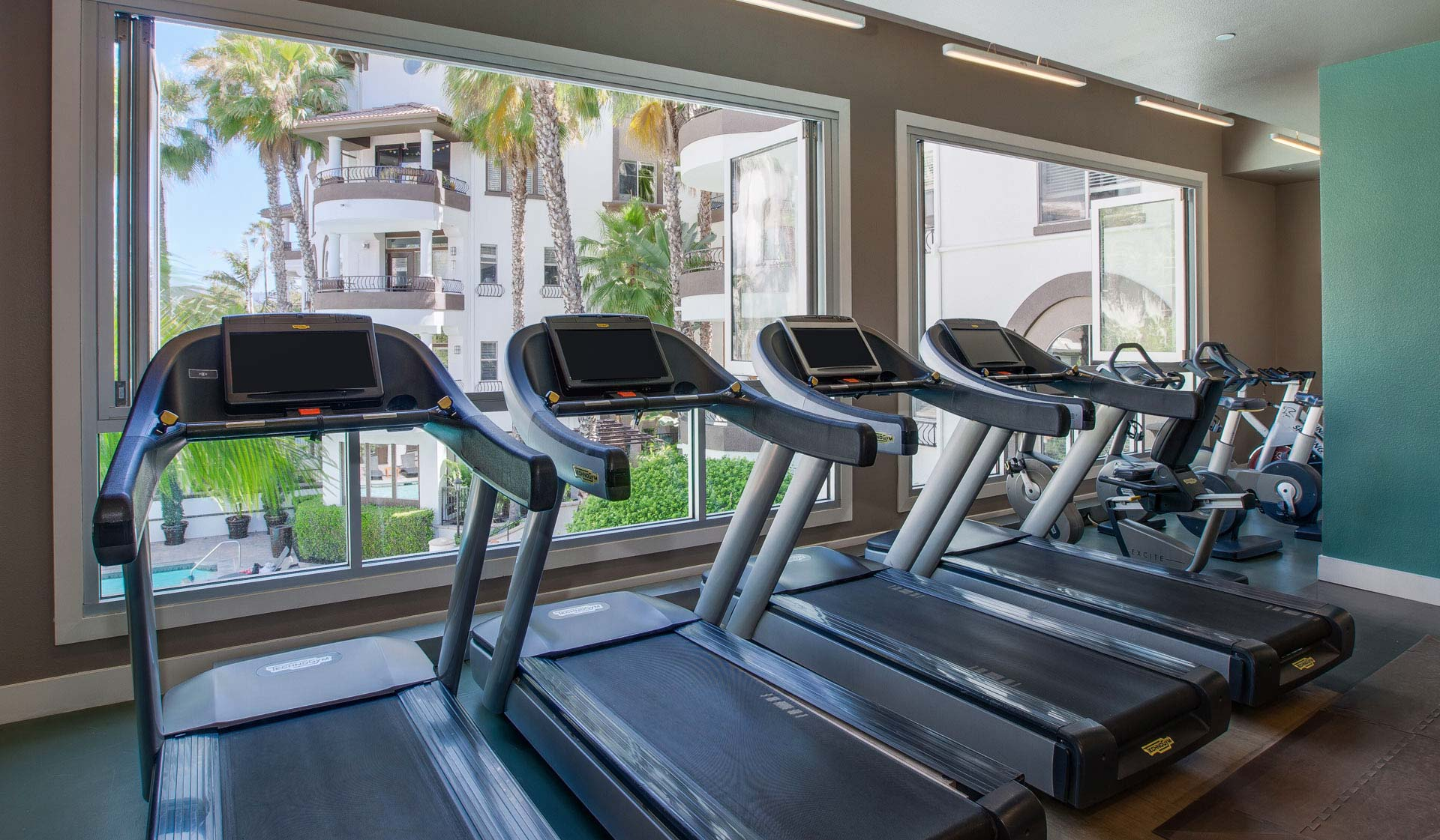 Palazzo West  - Los Angeles, CA - Treadmills in Gym